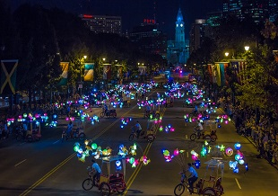 Fireflies on the Parkway